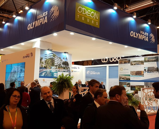 FITUR – Viajes Olympia Exhibitor