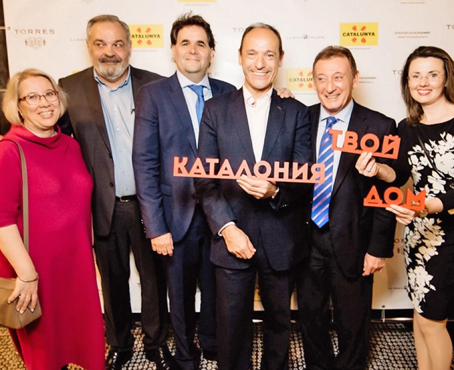 Cena de Gala de la Agencia Catalana de Turismo en Moscú