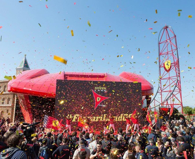 Ferrari Land en PortAventura World