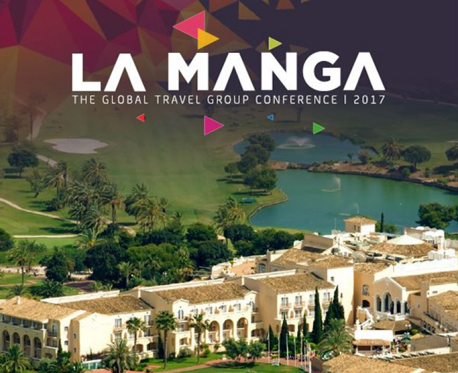 Conferencia en La Manga Club  con Global Travel
