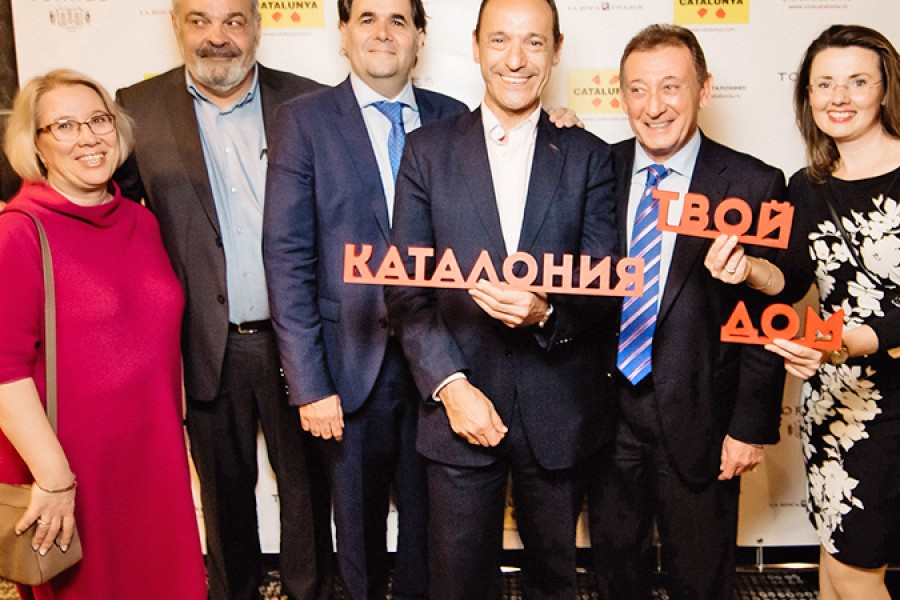 Gala dinner by the Catalan Tourist Board in Moscow