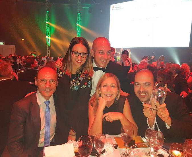 Cena de Gala y Premios en el sector turístico de Irlanda, Dublín